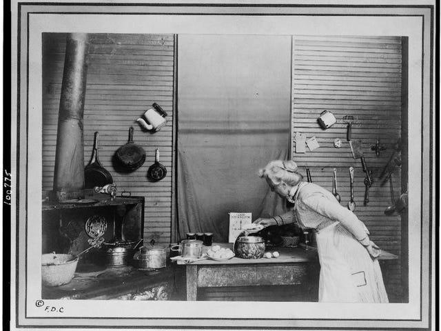 Fotografía de cocina vintage