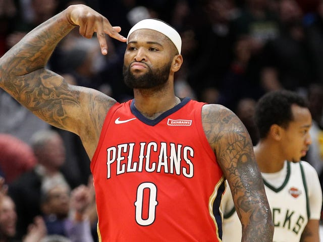Dear God, DeMarcus Cousins Is Signing With The Warriors