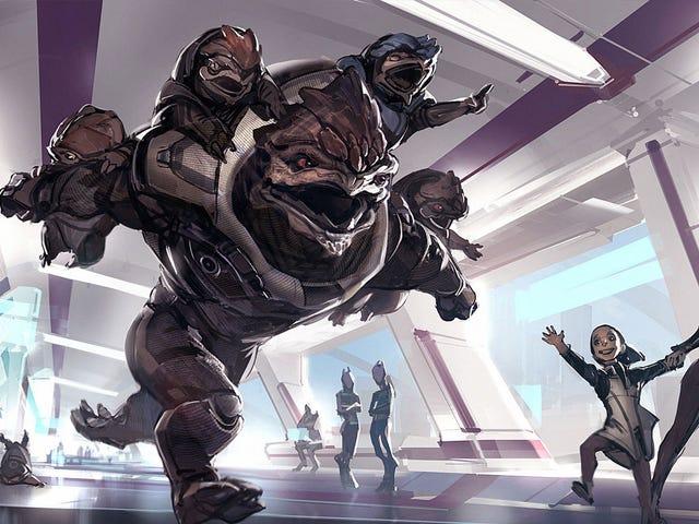 Om The <i>Mass Effect</i> Games hade barn