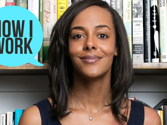 I'm National Book Foundation Executive Director Lisa Lucas, and This Is How I Work