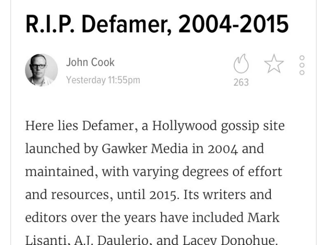 "Caity Weaver: ""Just wondering  why gawker is erasing black women from the historical record"""
