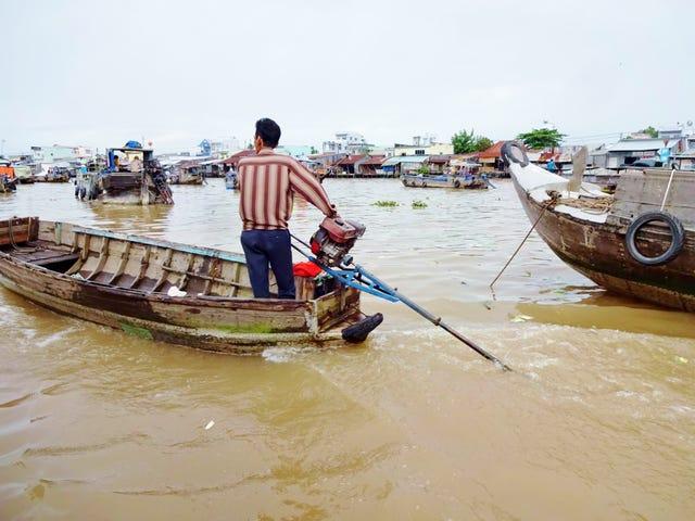 non-marine engine powered boats