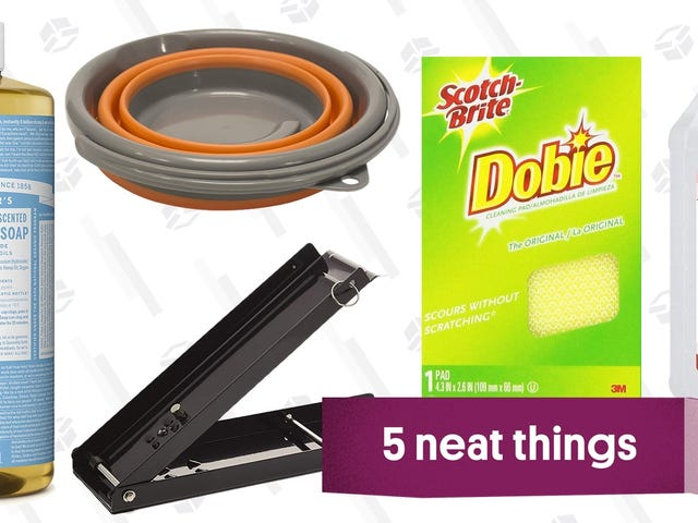 Five Great Products For All Your Camping Cleanup Needs