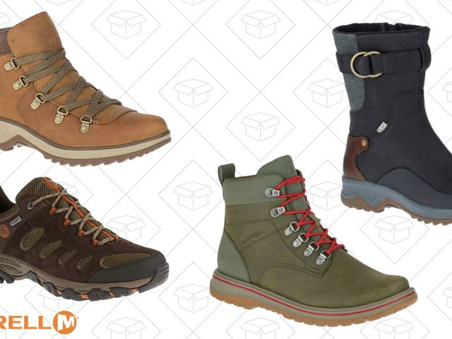 Get The Hiking Boots Your Feet Deserve With This Merrell Sale