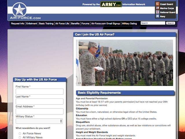 Fake Military Recruitment Websites Seized by FTC for Selling Personal Info to For-Profit Schools
