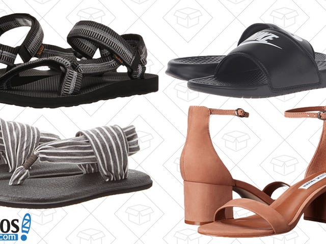 Zappos Is Running a Rare End of Season Sandal Sale