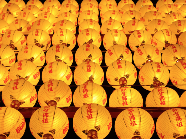 Glowing Lanterns. Taiwan. By Jeremy Lim | Official Site