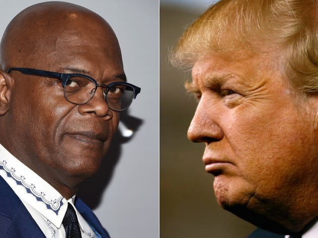 Donald Trump and Samuel L. Jackson Are Dudefighting Over a Game of Golf