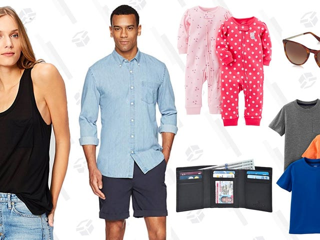 You'll Find Some New Clothes For The Whole Family With This 50% Off Fashion Sale