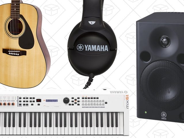 Rock Out With Your Wallet Out In Amazon's One-Day Yamaha Sale