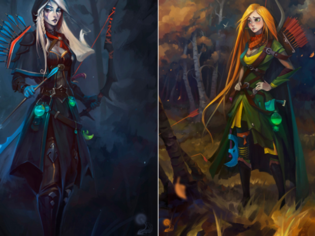 <i>Dota </i>Heroes Illustrated In Disney Style