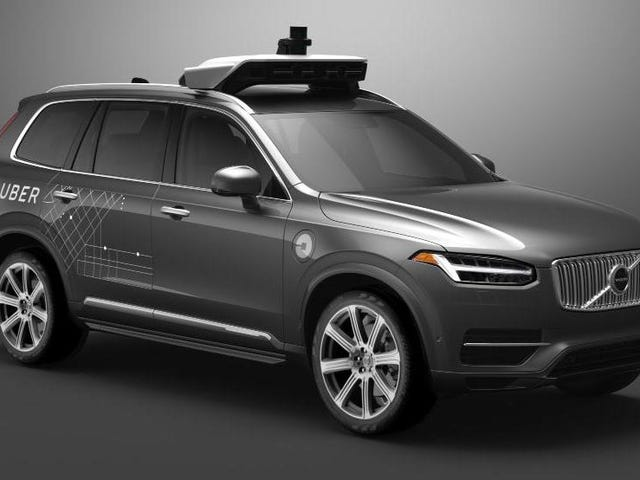 Uber's Autonomous Test Cars Had Volvo's Safety Systems Disabled