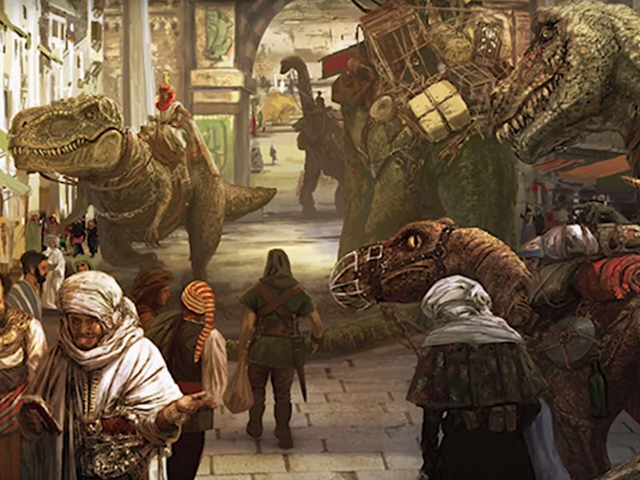<i>D&D</i> : s kommande äventyr handlar om zombies och dinosaurer