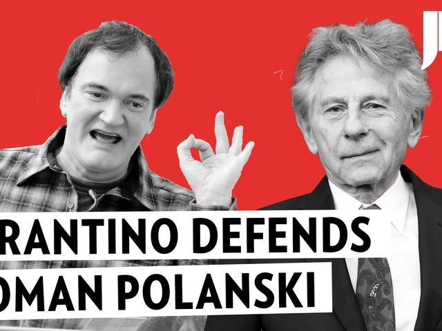 Aquí está el audio de Quentin Tarantino defendiendo a Roman Polanski: Una niña de 13 años 'quería tenerlo'