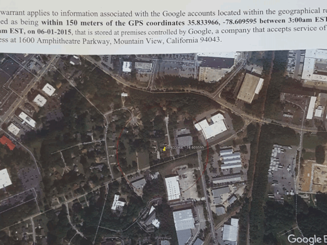 North Carolina Police Issued Sweeping Warrants to Search Data On All Google Devices Near Murder Scene<em></em>