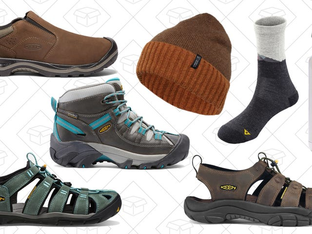 Hit The Trails With Up to 20% Off Select Keen Footwear and Gear