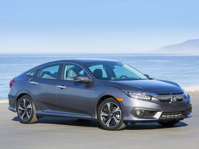 Honda вспоминает 350 000 гражданственности за проблемы с электрическим стояночным тормозом