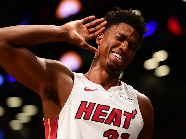 Hassan Whiteside Claims He Wasn't Mad, Just Had To Use The Bathroom When He Left The Bench Early