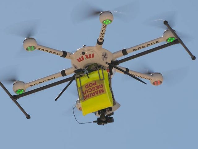 A Drone Just Saved the Lives of Two Teenage Boys in Australia