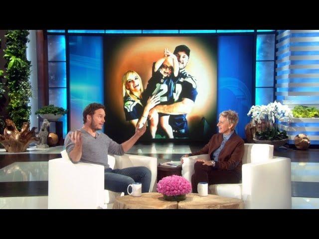 Chris Pratt tårer op, når han snakker om sin frygtelig høflige søn