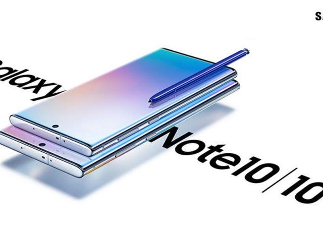 Цена и даже больше изображений Galaxy Note 10 фильтруются за часы до его презентации.