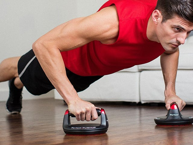 Give Your Joints a Break With the Perfect Pushup Elite System, Now Just $20
