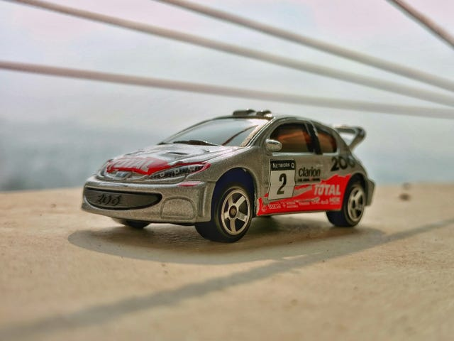French Friday with Marcus Grönholm's 206 WRC