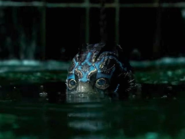 A Dildo Maker Has Finally Determined What <i>The Shape of Water</i>'s Fish Dick Looks Like