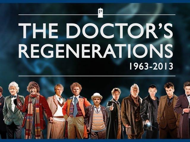 Feiern Sie den 53. Geburtstag von Doctor Who , indem Sie seine Hauptfigur 13 Mal sterben sehen