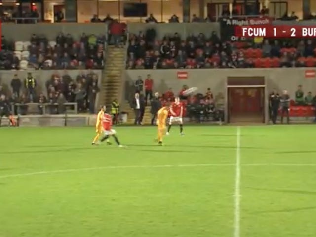 Iron-Skulled Lad Scores Header From Beyond Halfway Line