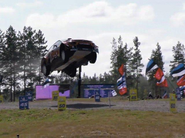 En Speed Flies Wondercars Of Rally Action, Finlandia