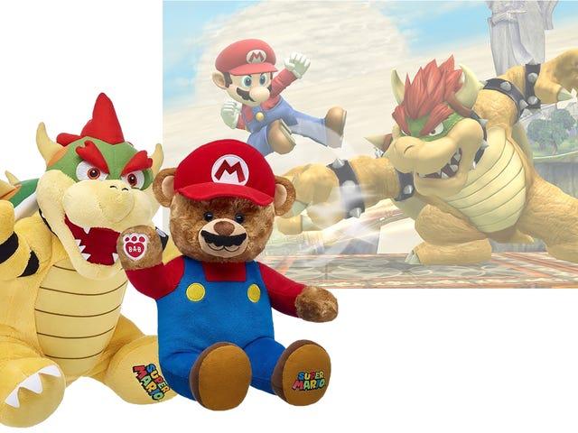 Mario And Bowser Mendapatkan Lebih Baik Sebagai Build-A-Bears
