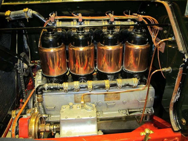 No Engine is Prettier Than a Copper Jacket Cadillac.