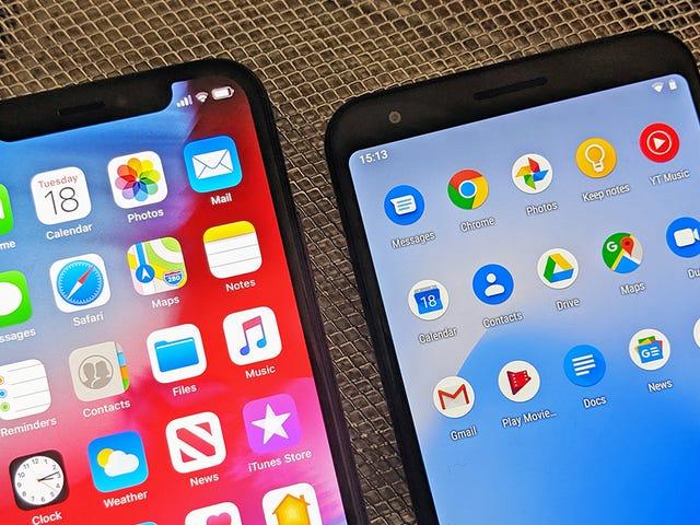 Apple Versus Google: Vem vinner App War?