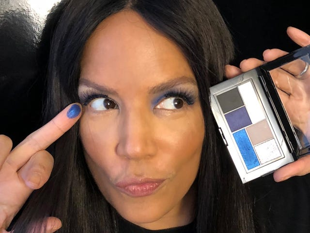 Bad Girl Blues: The Coachella Makeup Trend to Try Now