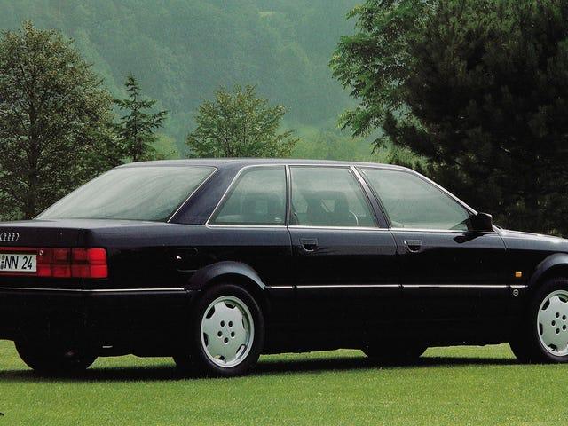 El Audi V8 L no estaba jodiendo