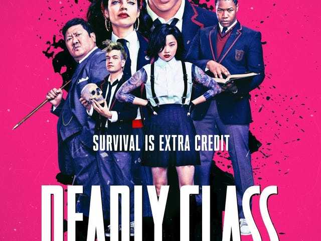 Deadly Class Premieres Tomorrow