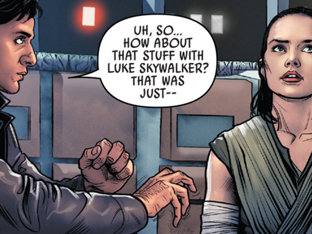 No, the New Poe Dameron Comic Doesn't Prove He's Force Sensitive