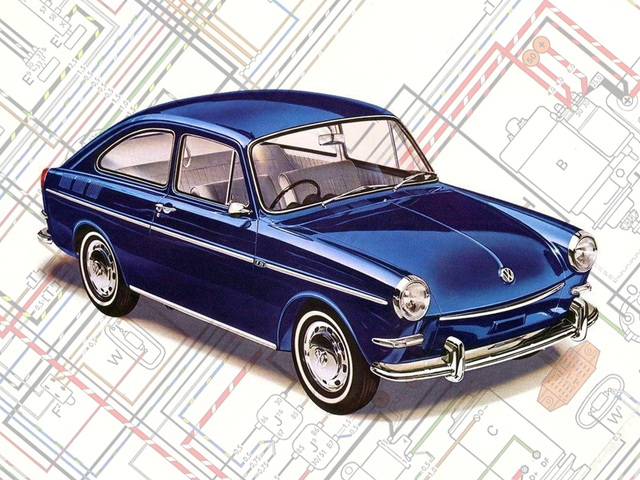 Chiếc Volkswagen Type 3 là một trong những cách quan trọng Chiếc xe hiện đại thực sự đầu tiên