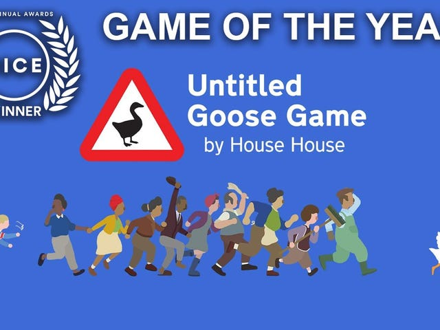 Untitled Goose Game And Control Clean Up At The 2020 DICE Awards