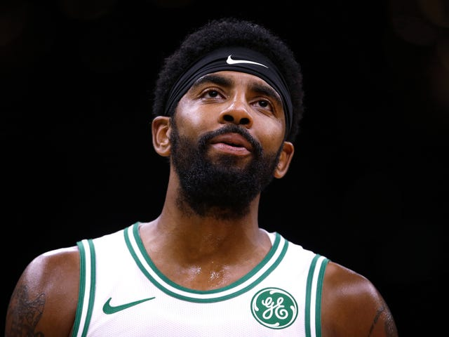 Kyrie Irving Says He Intends To Re-Sign In Boston Next Summer
