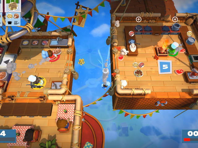 Exploding hot air balloons, zombie bread, and other joys fromOvercooked 2's crazy cartoon kitchens