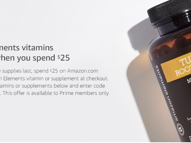 Grab Free Vitamins When You Spend $25