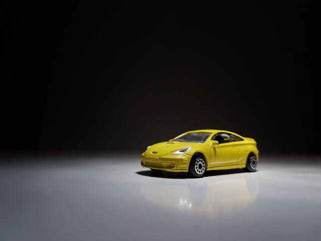 To-be Tuesday: playworn Toyota Celica by MotorMax (I think)