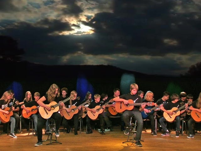 Warsaw Guitar Orchestra - Call of Ktulu (Metallica)