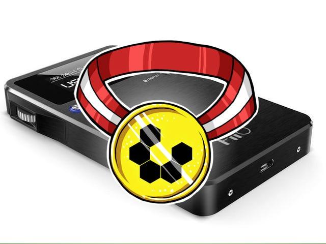 Mest populære bærbare hovedtelefonforstærker: FiiO Alpen 2 E17K