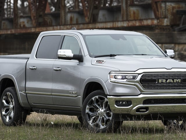 The 2020 Ram 1500 EcoDiesel's $36,890 Starting Price Undercuts Chevy And Ford