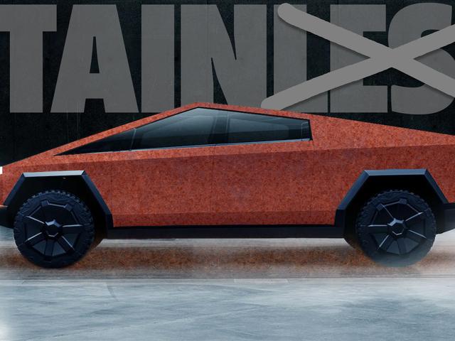 Stainless Is Cool Tetapi Bagaimana Mengenai Kereta Karat