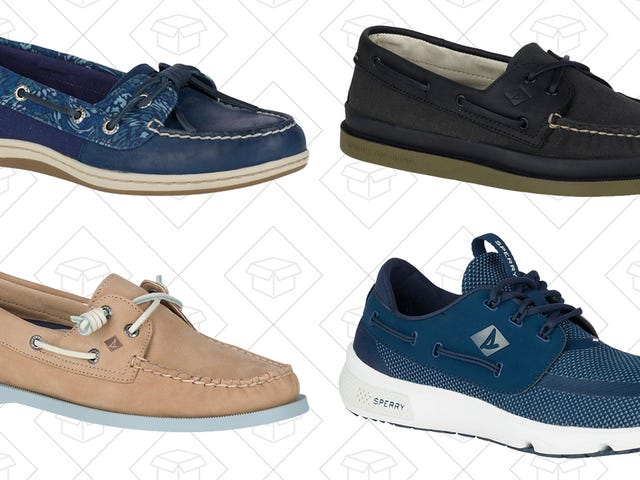 Take Your Feet On A Cruise With $50 Sperry Boat Shoes