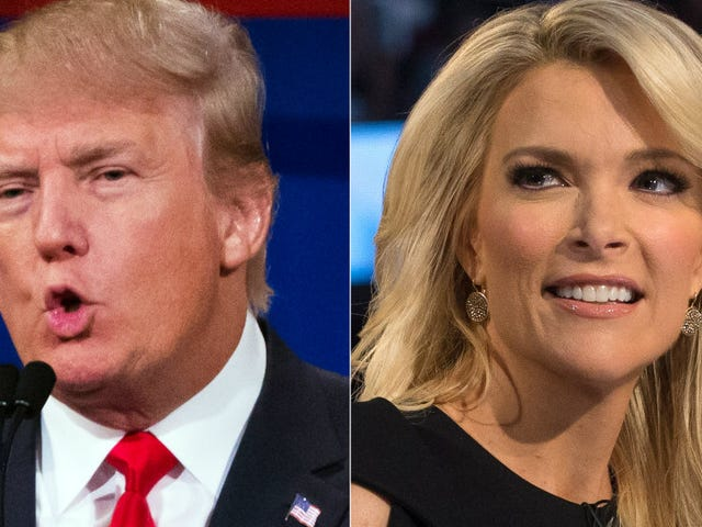 Continuing Outreach to Female Voters, Donald Trump Calls Megyn Kelly 'Crazy' Over and Over